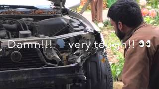 Toyota Camry 2000- Front Bumper & Headlight Damage fixed under $150