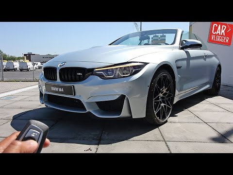 INSIDE the NEW BMW M4 Competition Package 2017 | Interior Exterior DETAILS w/ Revs