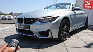 INSIDE the NEW BMW M4 Convertible Competition Package 2017 | Interior Exterior DETAILS w/ Revs
