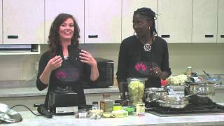 "Maceys Cooking Corner With Dr. Janae Devika "" Non Dairy Clam Chowder"""