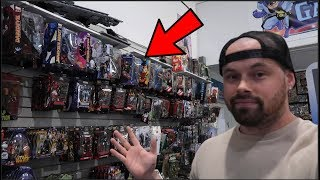 TOY HUNTING AT GALACTIC QUEST! MARVEL LEGENDS, FUNKO POPS, COMIC BOOK HAUL!!