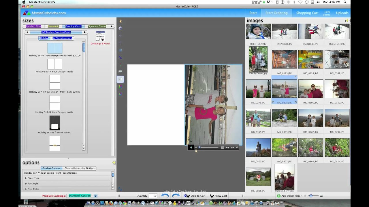Using Roes To Design Custom Greeting Cards Youtube