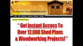 My Shed Plans Review My Shed Plans Elite - Learn To Build Shed Plans Fast And Easy