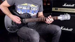 EPIPHONE GOTHIC LP STUDIO BK SBHD - Demo Guitar
