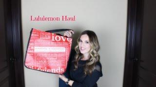 Lululemon Haul