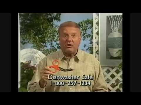 Dick Van Patten for Dura Shears Commercial 1993 windowboxed