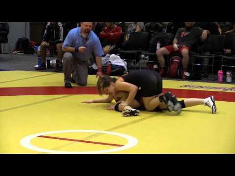 2014 Wesmen Open: 55 kg Morgan Hill vs. Dajan Treder