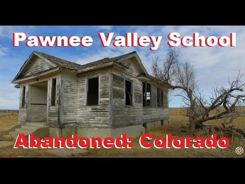 Abandoned: Pawnee Valley School & Gary, Colorado School
