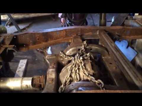 67-72 Ford F-100 IRS Install mn-12/fn-10 - YouTube