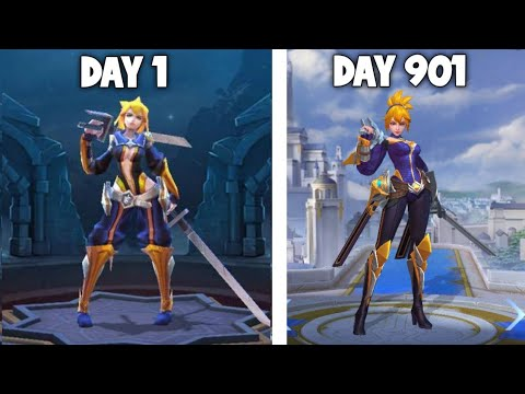 Day 1 Fanny vs Day 901 Fanny -MLBB