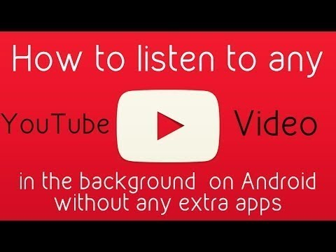 How to listen to a song without going on youtube