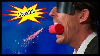 Top 3 Men's Most DANGEROUS SHOCKING Acts In The World!