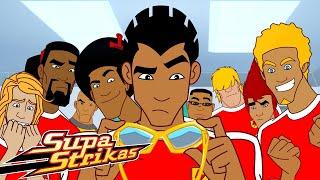 Temporada 4 Capítulo 1 Campo de Visión Super Strikas Súper Fútbol Dibujos Animados