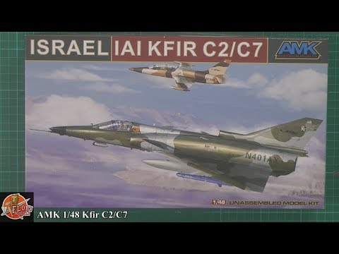 AMK 1/48 Kfir C2/C7 review
