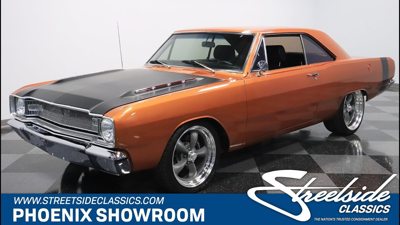 1967 Dodge Dart >> 1967 Dodge Dart Restomod For Sale 293 Phx