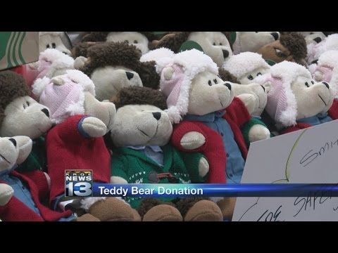 Grocery store donates teddy bears, coffee to Albuquerque firefighters