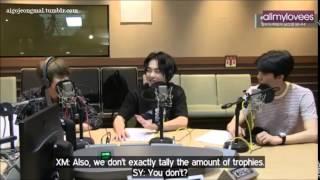 EXO Noon Song of Hope with Xiumin, Baekhyun, Sehun - Laugh Compilation