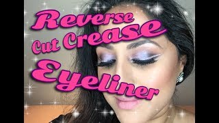 REVERSE CUT CREASE LINER!! ** B Beautiful by Binita **