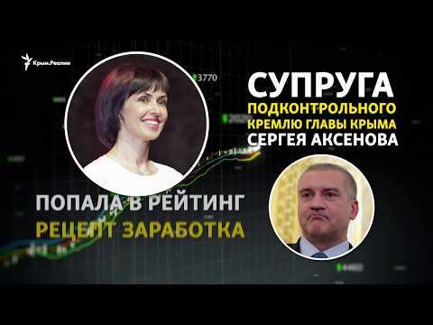 Рецепт заработка от «первой леди» Крыма Елены Аксеновой