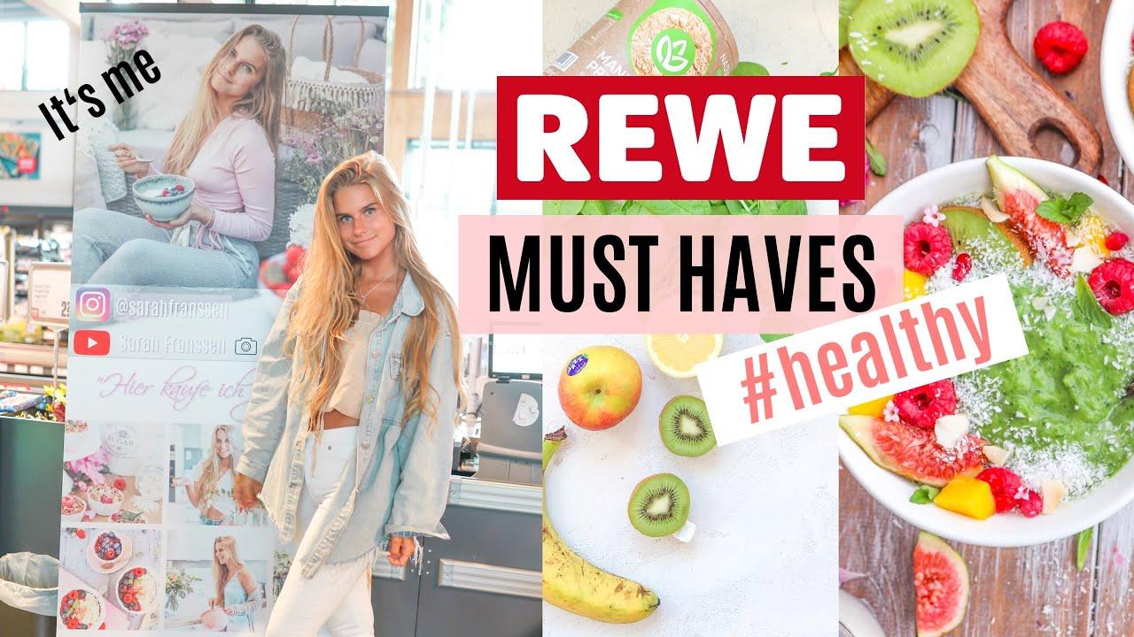 Allein bei Rewe | Diät Must Haves | Food Haul | Blumenkohlreis | Protein Produkte