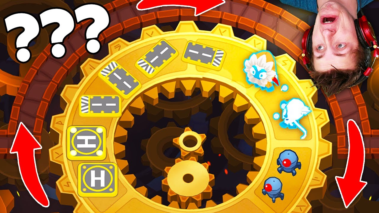 How to ROTATE Towers in Bloons TD 6! (AWESOME New Geared Map!) *Version 16.0*