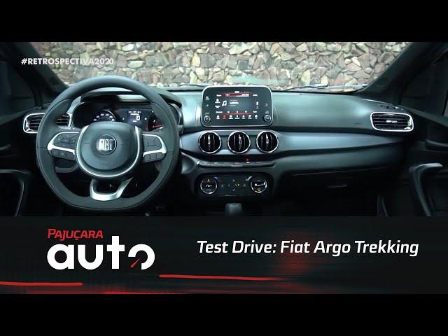 Retrospectiva 2020: Reveja o test drive do Fiat Argo Trekking