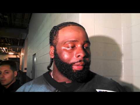 Jason Peters talks about his return to Eagles practice