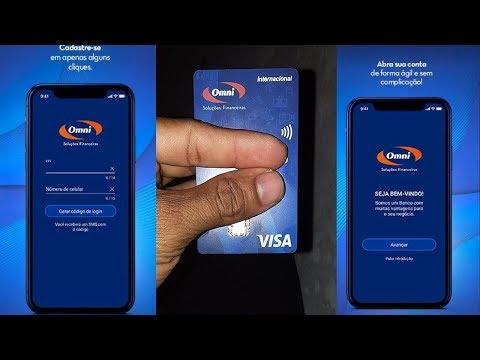 Conheça A Nova Conta Digital  Grátis Da Omni Banco, Com Direito A Cartão Visa Internacional
