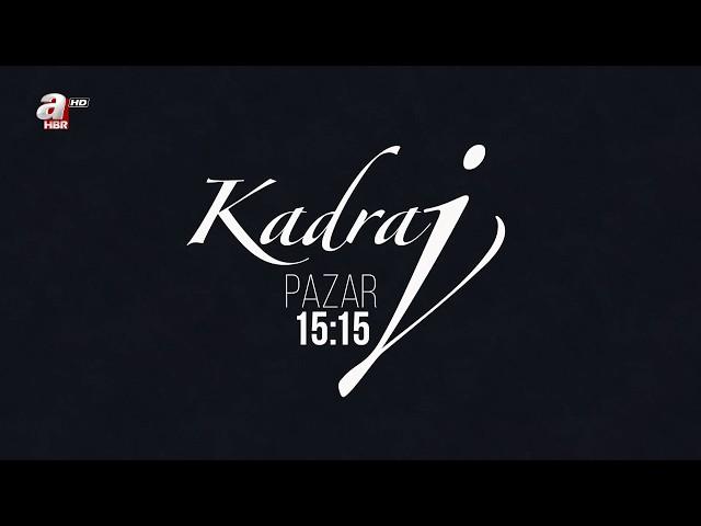 Zeynep Bayramoğlu'nun sunumu ile Kadraj Pazar 15:15'te A Haber'de.