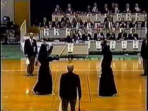 All Japan kendo 8 dan tournament 1999 Clip 3