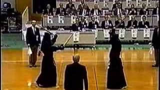 All Japan kendo 8 dan tournament 1999 Clip 3