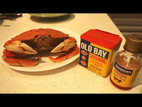 Catch N' Cook Dungeness Crabs In Old Bay And Spicy Seasoning!