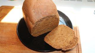 Ржаной хлеб из хлебопечки (без закваски)