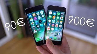 90€ iPhone vs. 900€ iPhone: Wie gut sind Fakes? - felixba