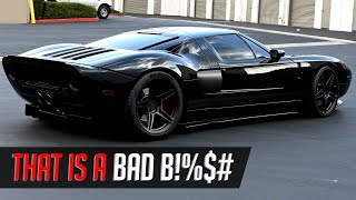 THE SICKEST MURDERED OUT FORD GT IN THE WORLD