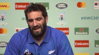 Press Conference with Sam Whitelock