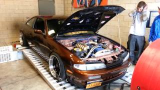 RB25det swapped 240sx S14 Dyno