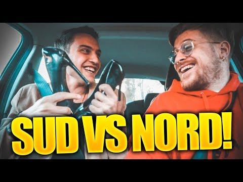 NORD vs SUD : SITUAZIONI in AUTO