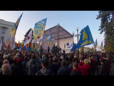 Майдан 3. Порошенко готов стрелять. 17 октября Киев.