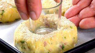 Простые закуски из вареного картофеля, в которые влюбятся все.