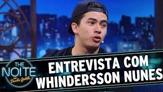 The Noite (25/03/16) - Entrevista com Whindersson Nunes