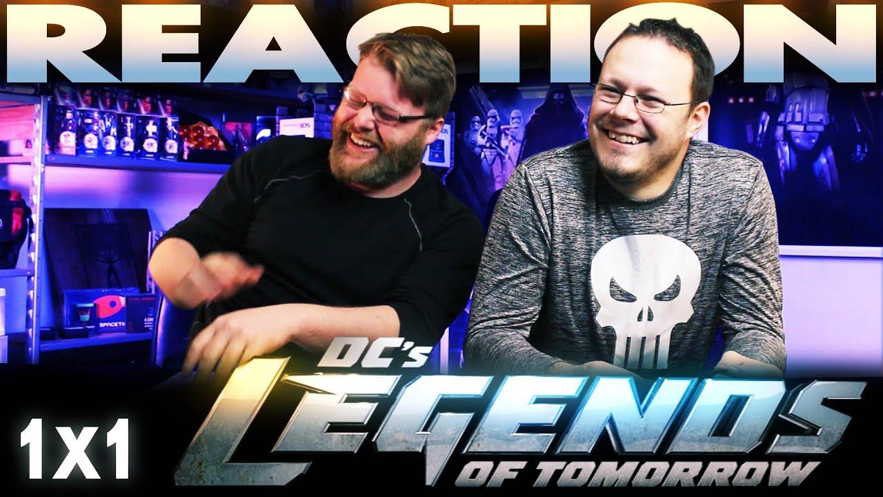 "Download Legends of Tomorrow 1x1 REACTION!! ""Pilot, Part 1"""
