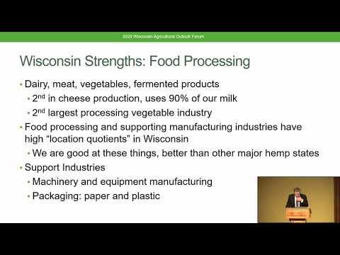 Paul Mitchell, 2020 Wisconsin Perspective On Industrial Hemp