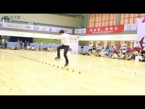 Shanghai Slalom Open 2013   Senior Men   01 Yu Jin Seoung