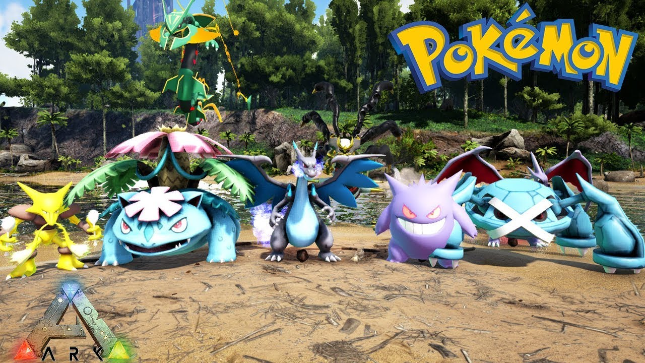 Ark Survival Evolved Pokemon Mod