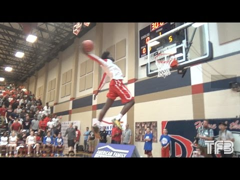 Highest Jumping High Schooler in the Country | Jashaun Smith INSANE TAKE OFF Dunk
