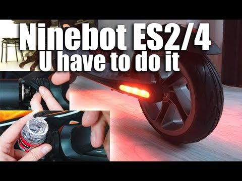 Segway Ninebot ES2 ES4 How to lubricate front fork ⚡🛴🚀 U have to do ⚠🤞🚀