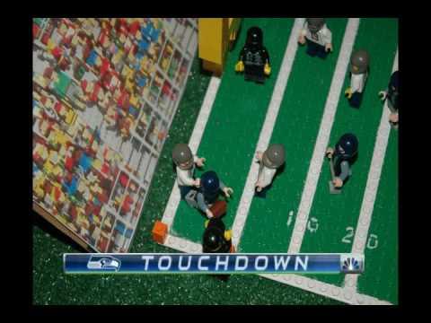 Lego Super Bowl XLIX