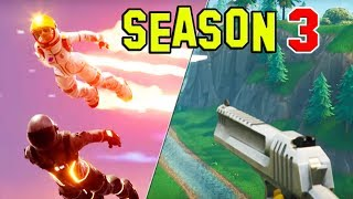 Fortnite SEASON 3 Battle Pass! Handgun, Challenges, Pump Nerf, ect (FORTNITE BATTLE ROYALE)