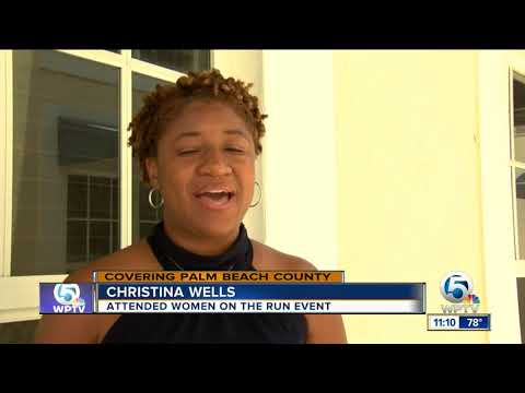 'Women on the run' mentoring program held in West Palm Beach